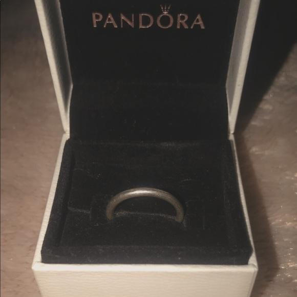 Pandors silver ring